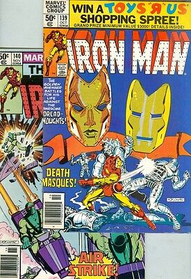 Iron Man #139 and #140 VG/FN