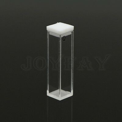 10 mm  Fluorescence Quartz Cuvette Cell Cuvette