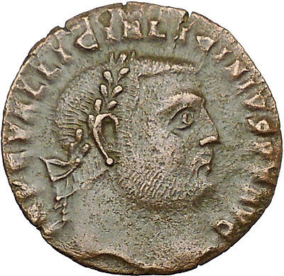 Licinius I Constantine The Great enemy 313AD Ancient Roman Coin Jupiter i34209