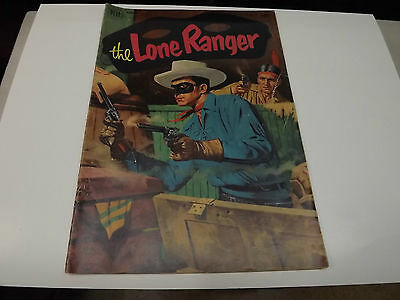 The Lone Ranger Dell 10 Cent Vintage Comic Cowboy Western Vol 1 N0 45