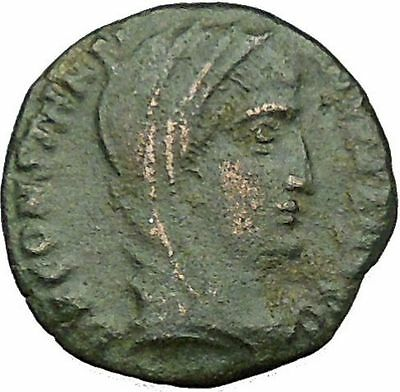 Constantine I the Great  arising after his death Ancient Roman Coin i34242