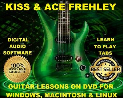 Kiss 436 Ace Frehley 37 Guitar Tabs Software Lesson CD & 91 Backing Tracks