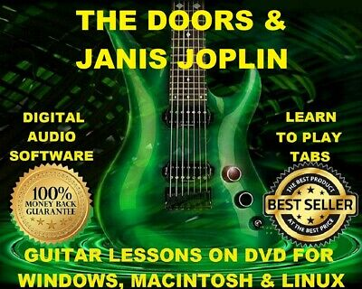 The Doors 161 Janis Joplin 44 Guitar Tabs Software Lesson CD 45 Backing Tracks