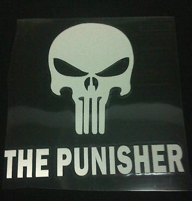"THE PUNISHER VINYL DECAL  4.5"" X 4.5"" Lot of 44 Decals"