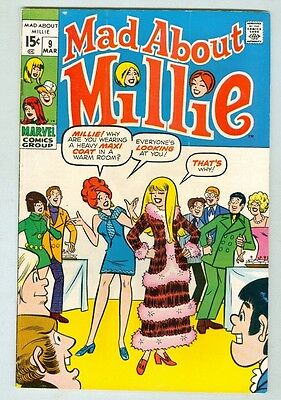 Mad About Millie #9 March 1970 VG