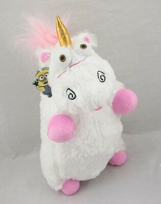 "Hit Despicable Me Cute Stuffed Unicorn IT'S SO FLUFFY 16"" Plush Doll Soft Pillow"