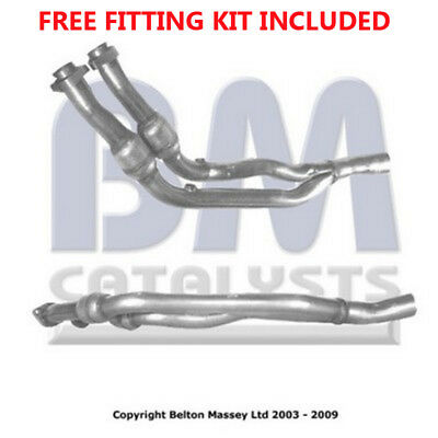 Fit with JAGUAR XJ6 Exhaust Fr Down Pipe 70319 3.2 (Fitting Kit Included)