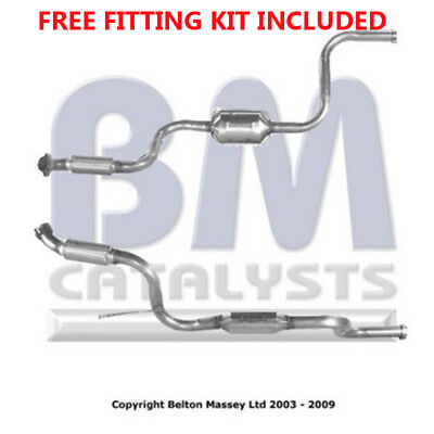 Fit with MERCEDES VITO Catalytic Converter Exhaust 80056 2.3 (Fitting Kit Includ