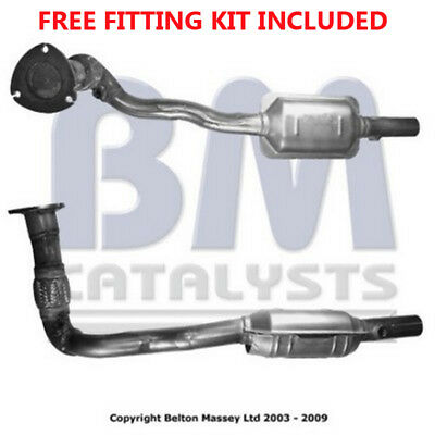 Fit with VAUXHALL ASTRA Catalytic Converter Exhaust 90839 2.2 (Fitting Kit Inclu