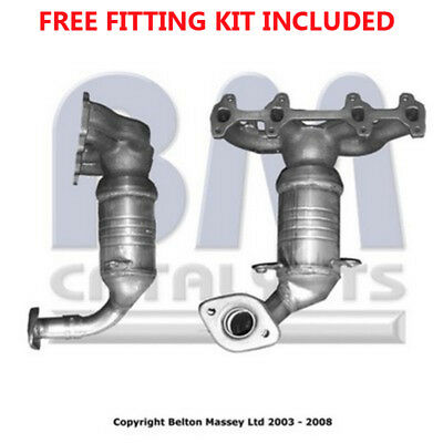 Fit with FORD FIESTA Catalytic Converter Exhaust 90999 1.3 (Fitting Kit Included