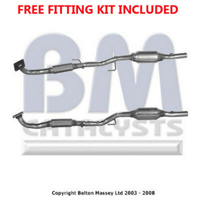 Fit with SKODA FABIA Catalytic Converter Exhaust 91132 1.4 (Fitting Kit Included