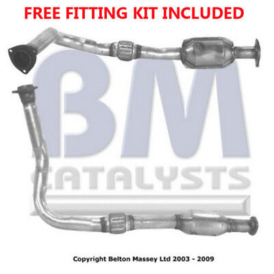 Fit with VAUXHALL VECTRA Catalytic Converter Exhaust 80028H 2.0 (Fitting Kit Inc