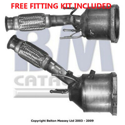 Fit with CITROEN C4 Catalytic Converter Exhaust 80276H 2.0 (Fitting Kit Included