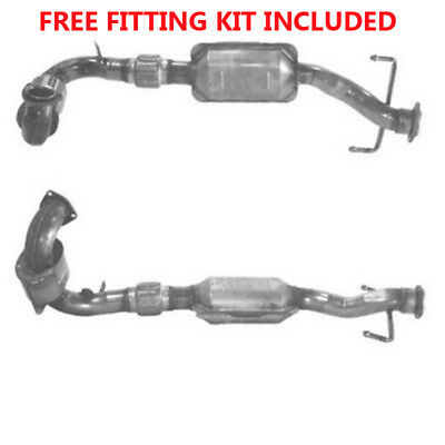 Fit with SAAB 9-5 Catalytic Converter Exhaust 90818H 2.0 (Fitting Kit Included)