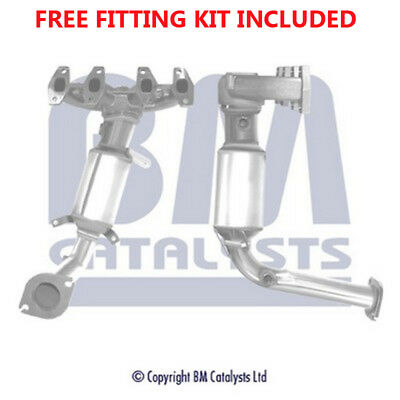 Fit with FIAT PUNTO Catalytic Converter Exhaust 91016H 1.2 (Fitting Kit Included