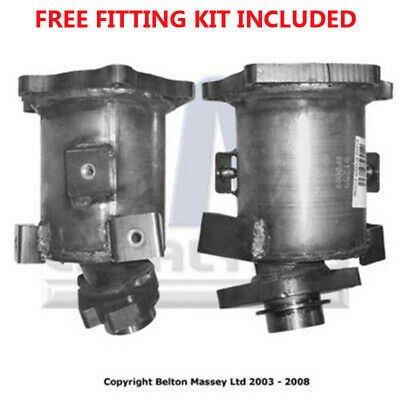 Fit with NISSAN ALMERA Catalytic Converter Exhaust 91259H 1.5 (Fitting Kit Inclu