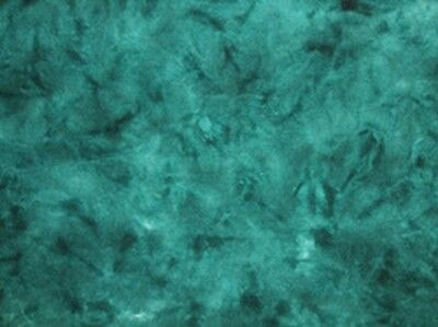 Triton Sea  - Spot hand dyed rug hooking 100%  wool fabric - Fat Quarter