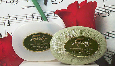 Aphrodisia Bath Soap 4.0 With Soap Dish By Faberge.