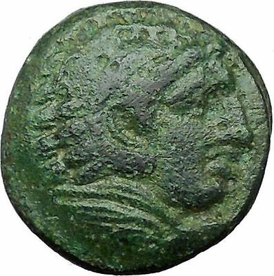 Alexander III the Great 336BC Ancient Greek Coin Hercules Bow Club i34577