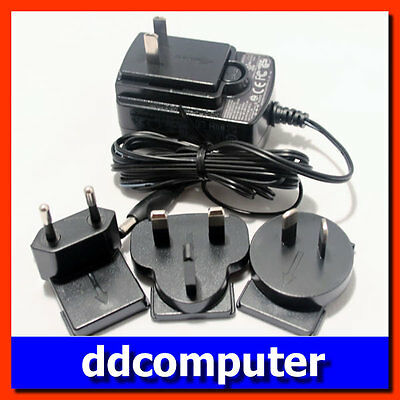 12V 1.5A Switching Power Adaptor 5.5x2.5mm Standard Round Tip Connector EU UK AU