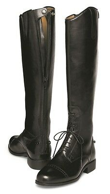 ARIAT - Women's Challenge Field Boot Back Zip - Black - ( 55201 ) - New