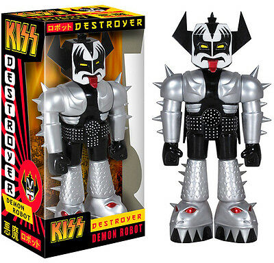 KISS - Gene Simmons Destroyer Demon Robot Vinyl Invader Figure Funko