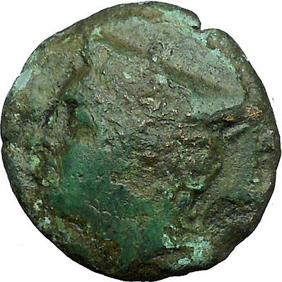 AINOS in THRACE 280BC Rare Authentic Ancient Greek Coin Hermes Caduceus i34311