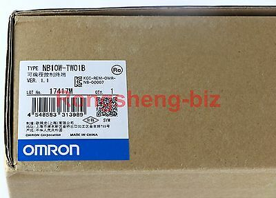 1PC Omron HMI NB10W-TW01B NB10WTW01B NEW IN BOX