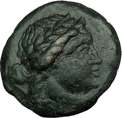 Greek city of KALLATIS in THRACE 250BC Apollo Tripod Quality Ancient Coin i34338