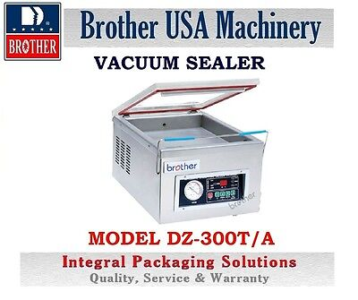 Vacuum Sealer Table Model - Stainless Steel -110V , Dz-300T/a  Brother