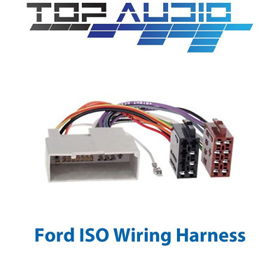 toyota iso wiring harness stereo radio plug lead wire loom ford iso wiring harness stereo radio plug lead wire loom connector adaptor