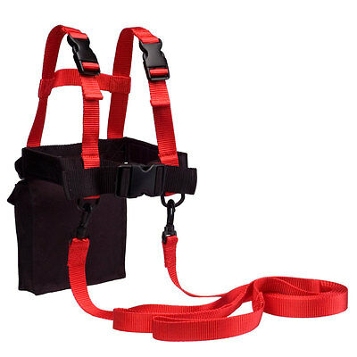 Lucky Bums Kids Ski Trainer w/ Harness, Learn-to-Tearn Leashes