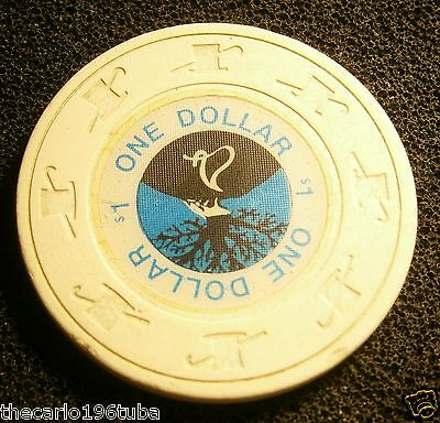 Foxwoods Casino $1 (One) Dollar Casino Chip  L@@k  #j02