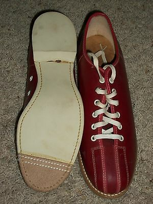 Vintage 1950s 60s Red Sealand Bowling Shows NOS Box Size 10 New Old Stock