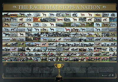"Melbourne Cup Winners"" THE RACE THAT STOPS A NATION""PHAR LAP MAKYBE DIVA print"