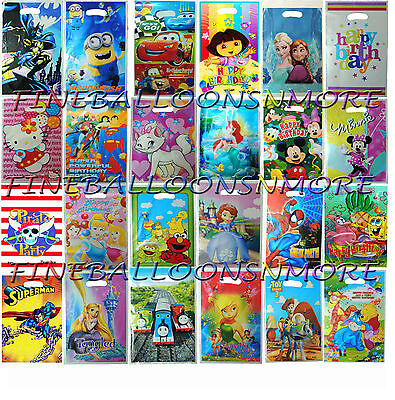 10X PARTY LOOT BAGS LOLLY BAGS BIRTHDAY PARTY SUPPLIES