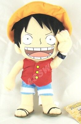 """ONE PIECE LUFFY PLUSH 10"""" GENUINE LICENSED PRODUCT"""