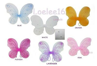 """16""""X13"""" FAIRY Wings Butterfly Dress Up Costume"""