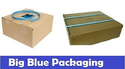 12mm x 1000m BLUE BAND POLY STRAP Strapping Polypropylene Packing 12 mm 1000 mtr