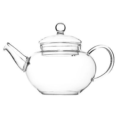 Glass Teapot & Wire Coil Filter - Devonshire - 350ml, 600ml, 900ml Chiswick Tea