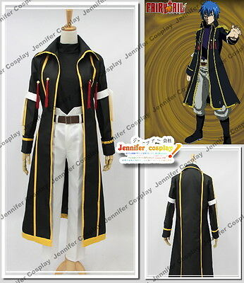 Fairy Tail Jellal Fernandes Gerard cosplay costume Ver.Yellow