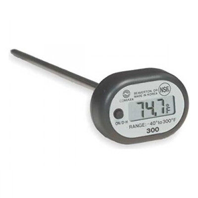 Comark 300 Digital Pocket Thermometer -40F to 300F NEW!