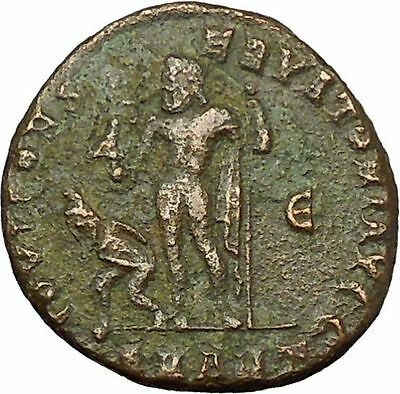 Licinius I Constantine the Great enemy 312AD Roman Coin Jupiter w Nike  i35072