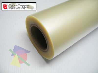 """8.5"""" X 100 yds - R Tape Clear Choice AT65 CLEAR Transfer Tape"""
