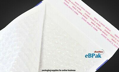 200x Bubble Padded Bag #0B 120X180mm - Plain BLANK SIZE 0B Envelope Mailer