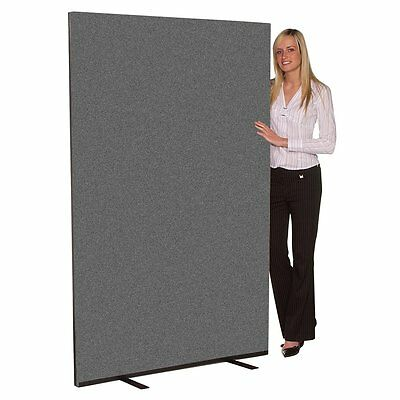 NEW Office Screens / Partitions /Room Dividers 1500mm wide x 1800mm high Grey