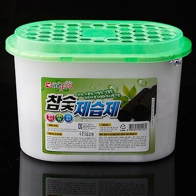 Charcoal Dehumidifier Agent Closet Moisture Odor Absorber Remover Air Cleaning