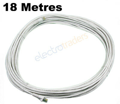 Siemon Brand Cat 6 Network Cable 18 Metres