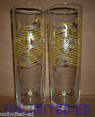 Bacardi Limon Collins/Highball Glasses - SET of 2 - BRAND NEW