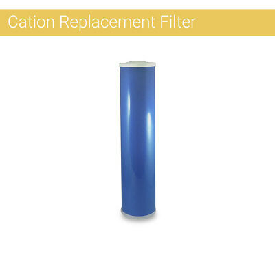 "BigBlue 20""x4.5 Cation Resin Softening Water Hardness Reduction Filter cartridge"